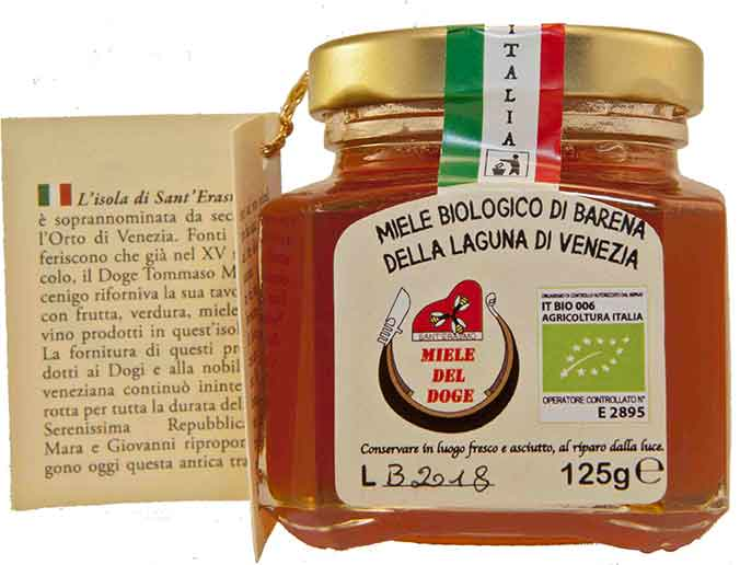 organic honey from Venice: barena